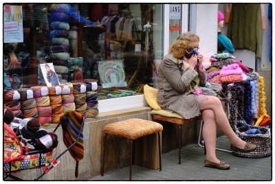 Telefonat mit Wolle