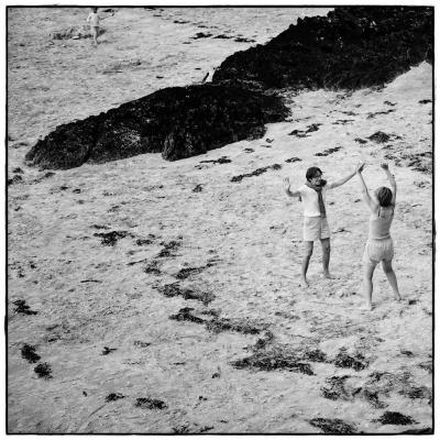 Übungen am Strand