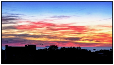 Port Blanc Sonnenuntergang VI