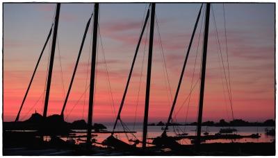 Port Blanc Sonnenuntergang IV