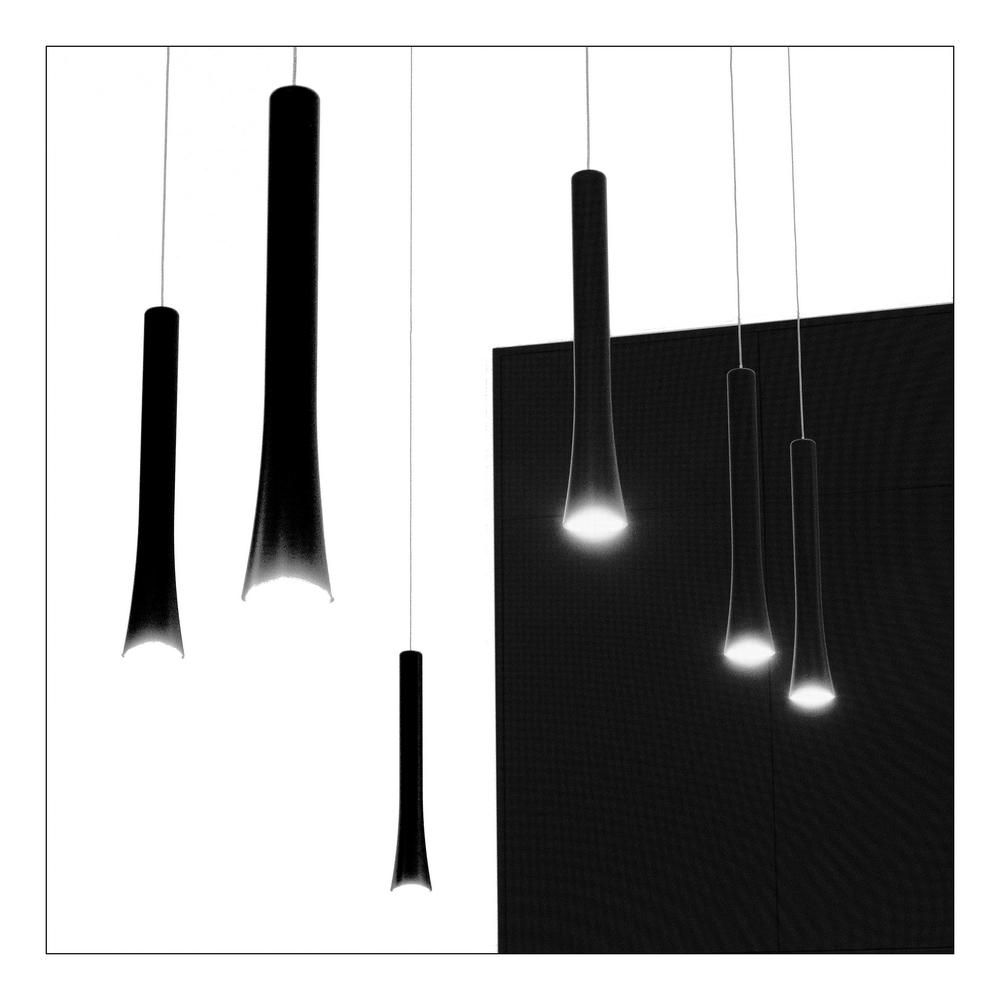 Lampen in b&w