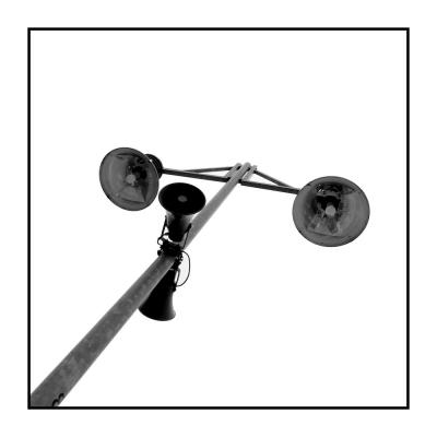 Lampen und Lautsprecher