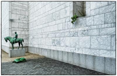 grüner Reiter